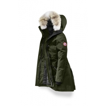 Canada Goose Ladies Rossclair Parka in Military Green
