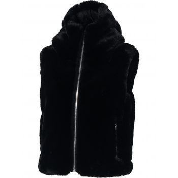 Fusalp Peggy Faux Fur Womens Gilet in Black