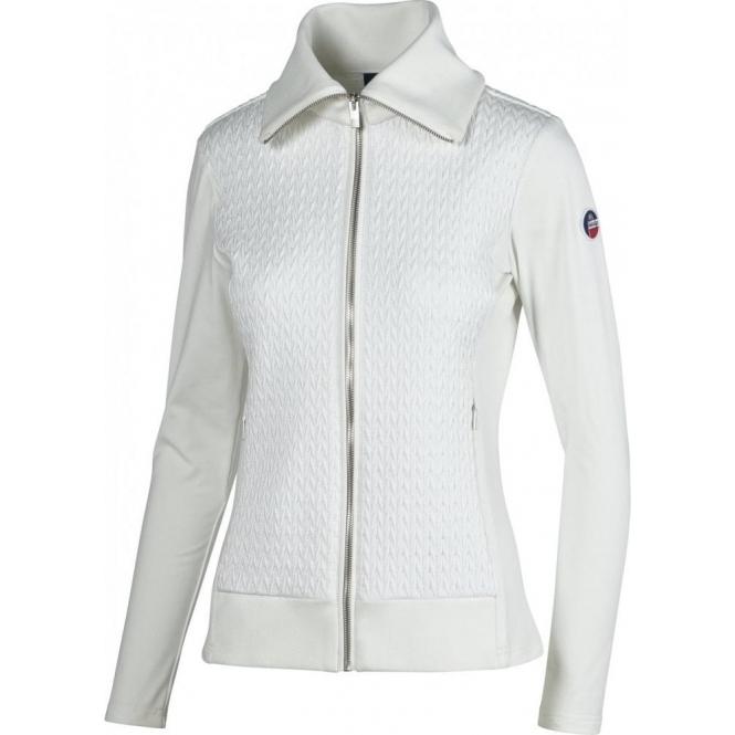 FUSALP Myrtille Full Zip Womens Midlayer in White