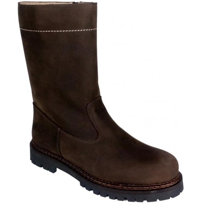 LA THUILE BOOTS La Thuile Stelvio Nubuck Mens Winter Boot in Brown