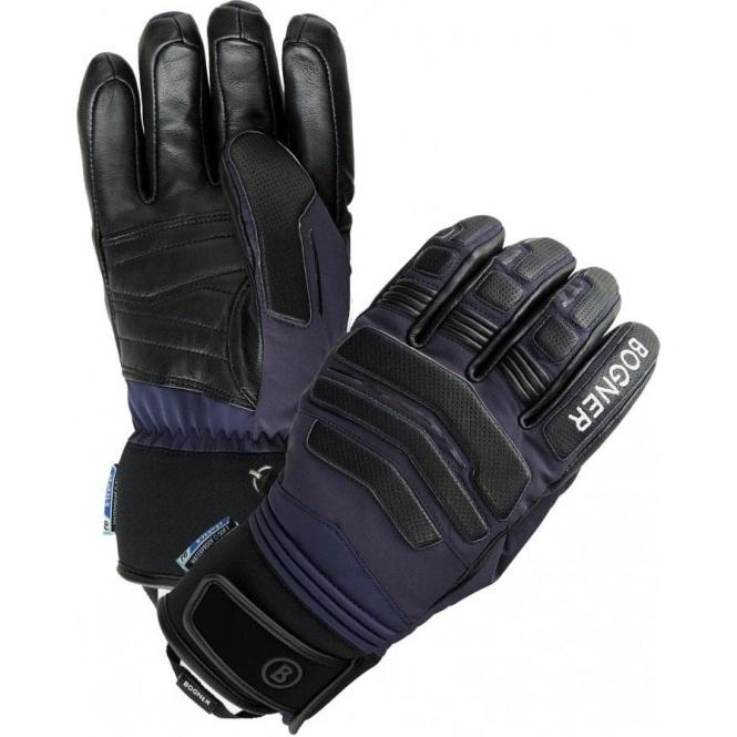 BOGNER Agimo Mens Glove in Dark Blue