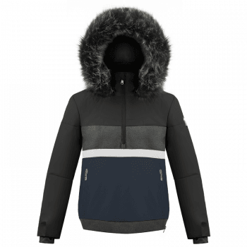Poivre Blanc Alice Womens Ski Jacket in Black