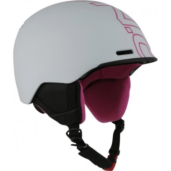 O'NEILL SKI HELMETS O'Neill Core Helmet in Grey Pink