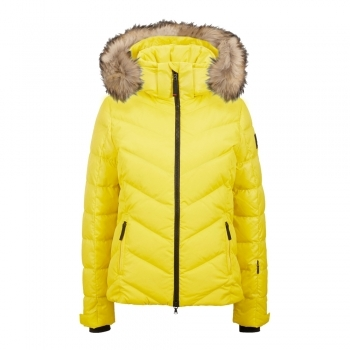 Bogner Sassy D Womens Ski Jacket in Yellow