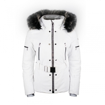 Poivre Blanc Abbey Womens Ski Jacket in White
