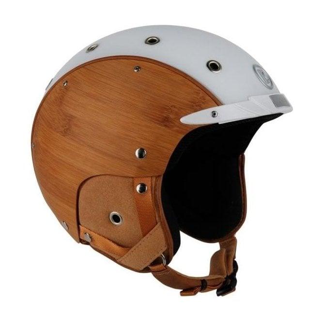 BOGNER Ski Helmet Bamboo In White