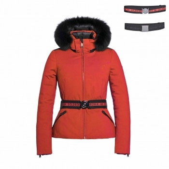 Goldbergh Hida Womens Ski Jacket in Poppy Red