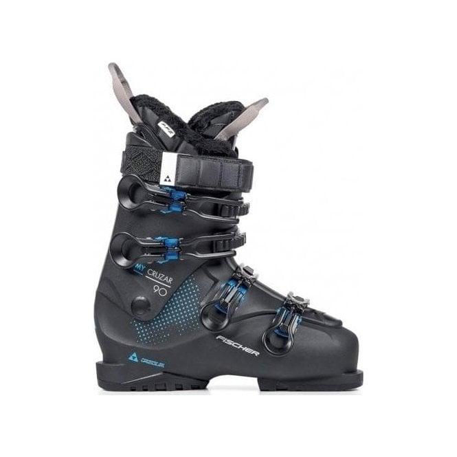 FISCHER SKIS Fischer My Cruzar 90 PBV Womens Ski Boot in Black