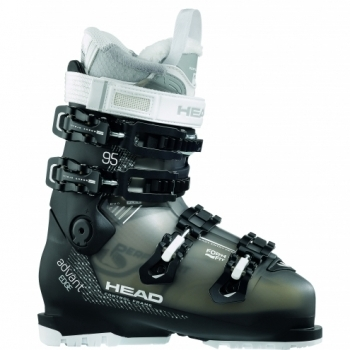 Head Ski Head Advant Edge 95 W Womens Ski Boot in Anthracite and Black