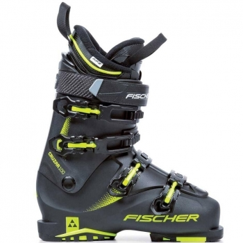 Fischer Ski Fischer Cruzar 100 Powered By Vacuum in Black and Yellow
