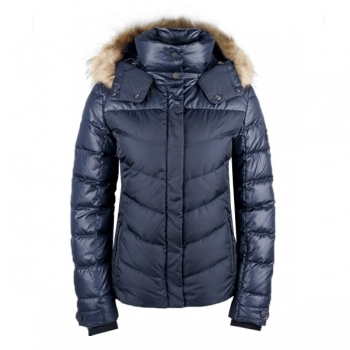 Bogner Sally 3 D Womens Ski Jacket in Navy