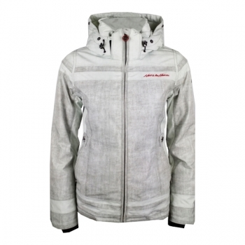 Hell Is For Heroes Boni Womens Ski Jacket in Silver Grey