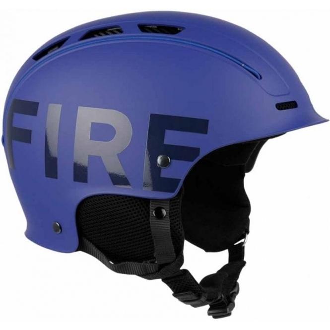 BOGNER Fire and Ice Freeride Ski Helmet In Blue