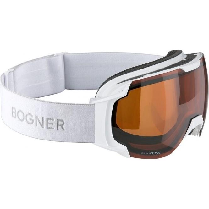 BOGNER Snow Goggles Just B Sonar in White