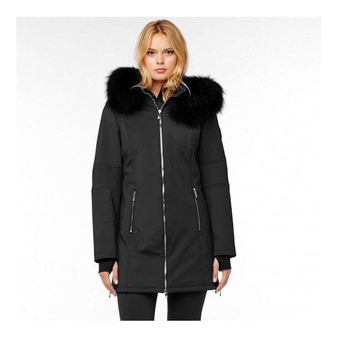 M MILLER M.Miller Astrid Womens Winter Coat in Black