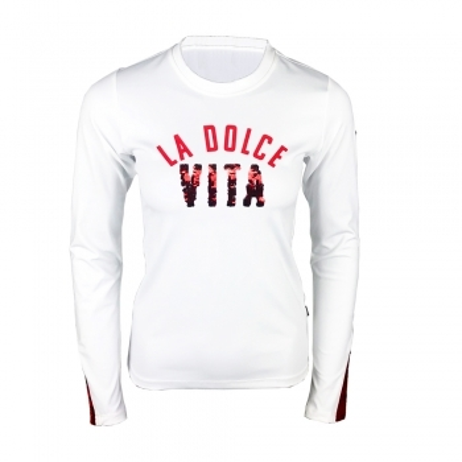 GOLDBERGH Vita Womens T-Shirt in White
