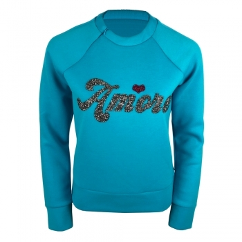 Goldbergh Amore Womens Apres Sweater in Ice Blue