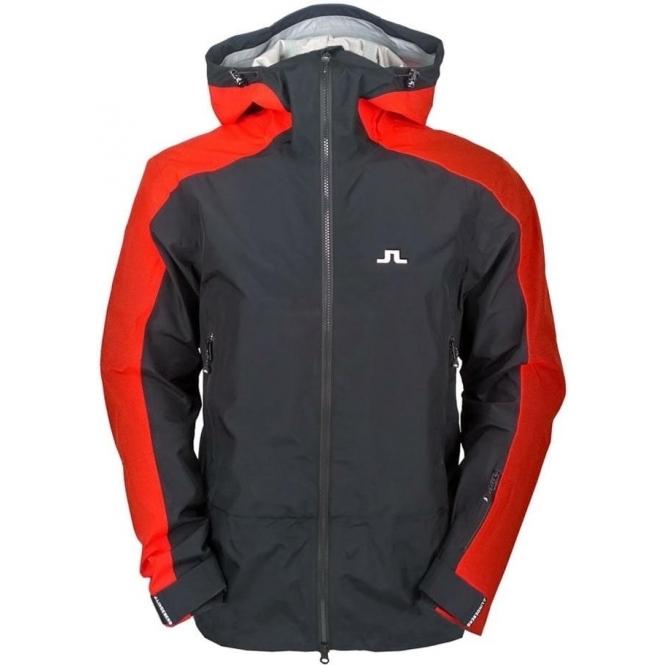 J LINDEBERG Hubbard Jacket Mens Ski Jacket in Black