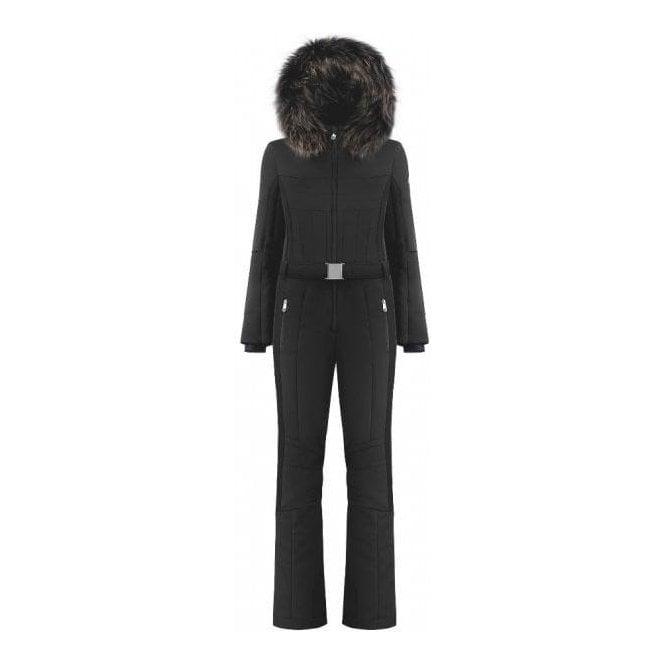 POIVRE BLANC Beatrice One Piece Ski Suit In Black