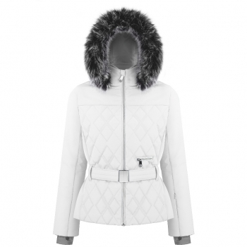 Poivre Blanc Bethany Womens Jacket in White