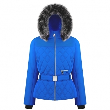 Poivre Blanc Bethany Womens Jacket in True Blue