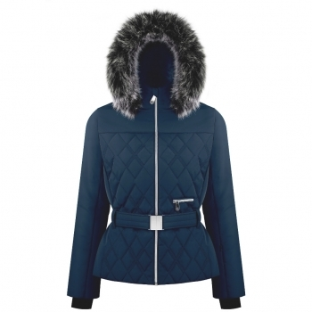 Poivre Blanc Bethany Womens Jacket in Gothic Blue