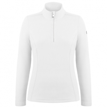 Poivre Blanc Babette Womens Fleece Midlayer in White