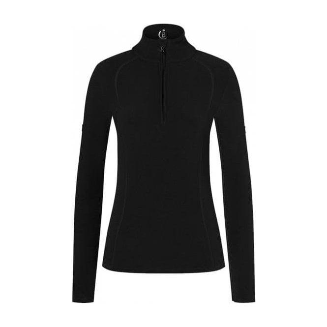BOGNER Madita Womens Fleece Midlayer in Black
