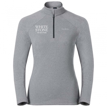 Odlo White Stone Womens Midlayer in Grey