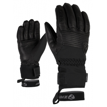 Ziener Gloves Gingo AS Mens Ski Glove in Black