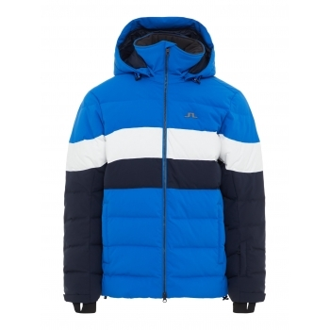 J LINDEBERG Russel Down Mens Jacket in Pop Blue