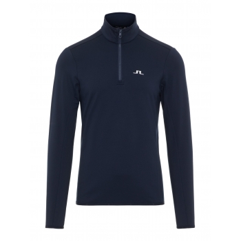 J LINDEBERG Kimball 1/2 Zip Top Midlayer in JL Navy