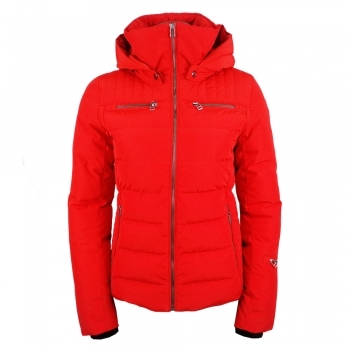 Fusalp Lise Quilted Womens Jacket Red