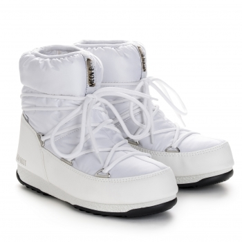 MOON BOOT Low Nylon Winter Boot in White