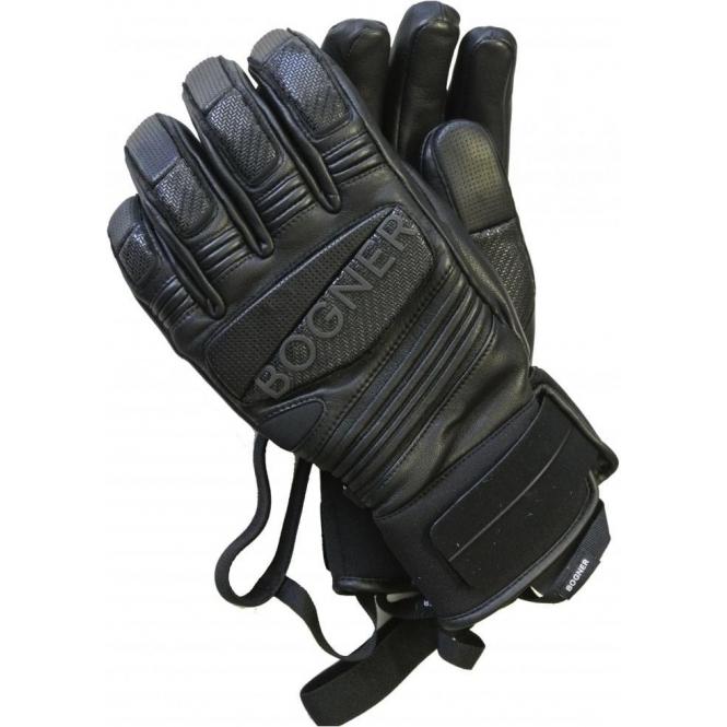 BOGNER Silvio Mens Ski Glove in Black