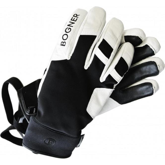 BOGNER Pero R-tex Mens Glove in Black and White