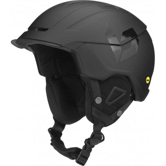 BOLLE Instinct MIPS Ski Helmet in Full Black