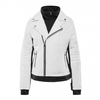 SOS Doll Womens Ski Jacket in White