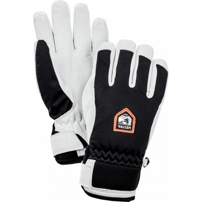 HESTRA SKI GLOVES Hestra Womens Moje Czone Ski Gloves in Black