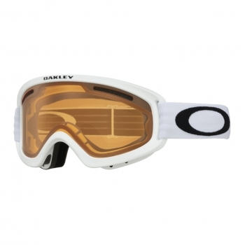 OAKLEY O2 XS Pro Matte White with Persimmon and Dark Grey Lenses