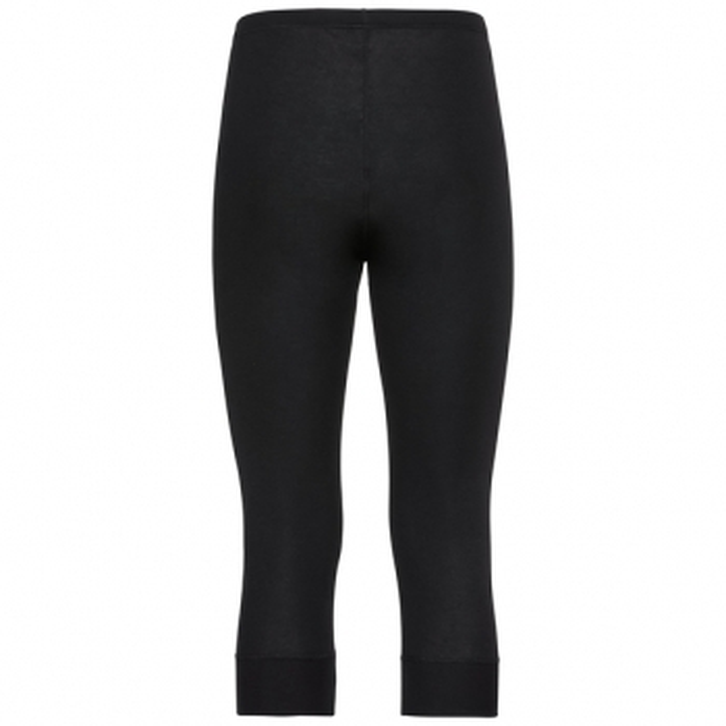 ODLO Active Warm 3/4 Pant Mens Baselayer In Black