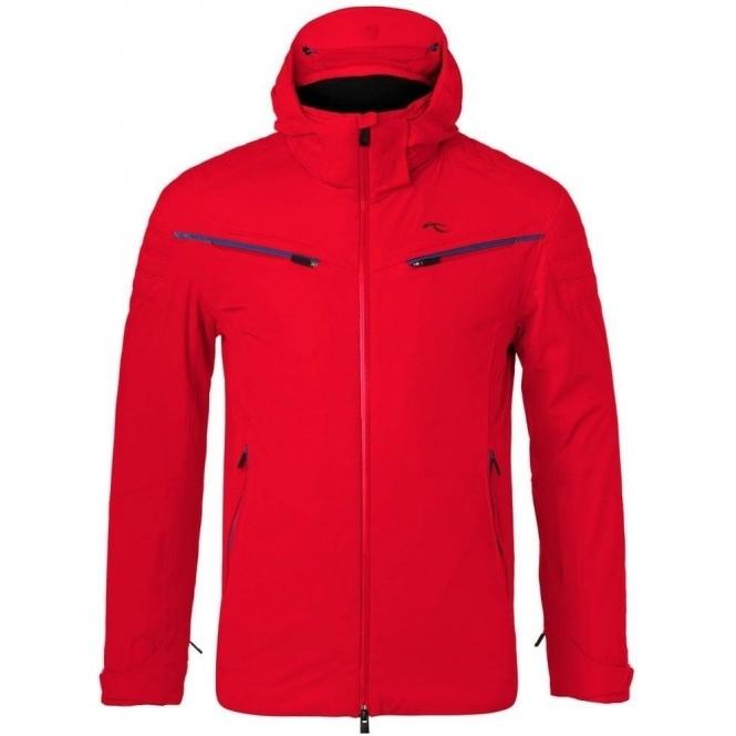 KJUS Formula Mens Ski Jacket in Scarlet