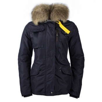 Parajumpers Denali Womens Down Winter Coat in Navy