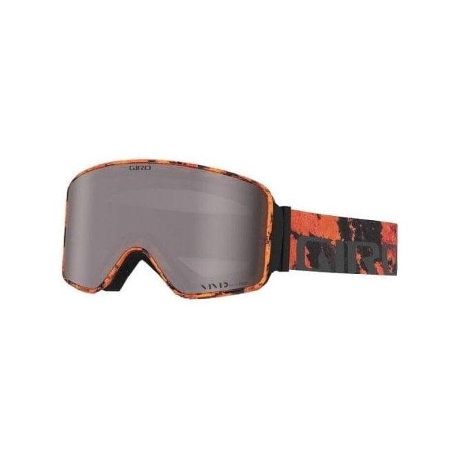 GIRO SKI HELMETS Method Mens Ski Goggle in Lava with Vivd Onyx Lens