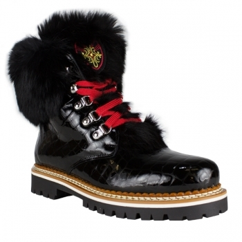 La Thuile Winter Boots La Thuile Freddo P Womens Winter Boot in Black