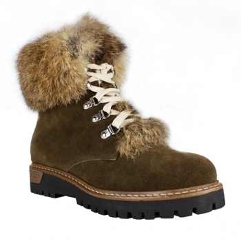 LA THUILE BOOTS La Thuile Susten Womens Suede Winter Boot in Brown