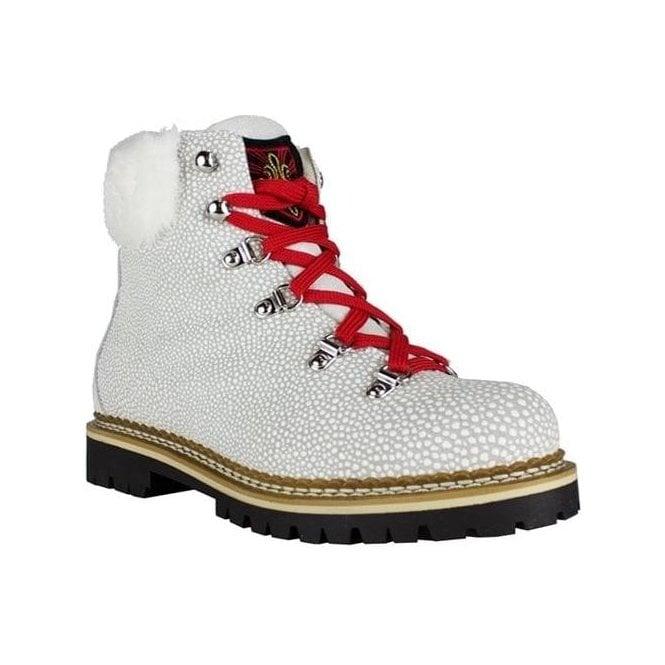 LA THUILE BOOTS Freddo W Womens Winter Boot in Textured White