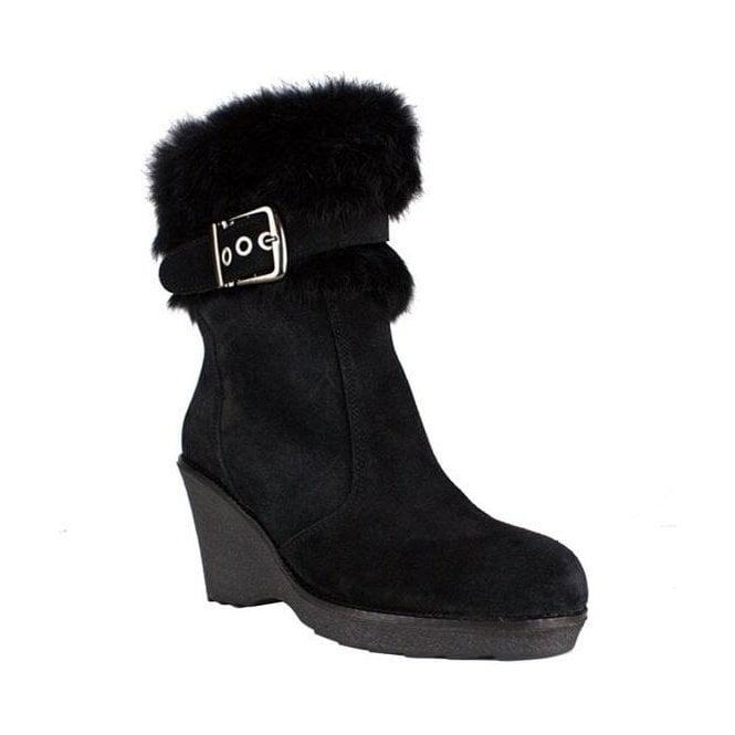 LA THUILE BOOTS La Thuile Kuhtai Womens Winter Boot in Black
