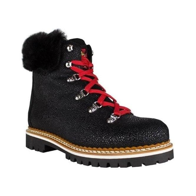 LA THUILE BOOTS Freddo W Womens Winter Boot in Textured Black