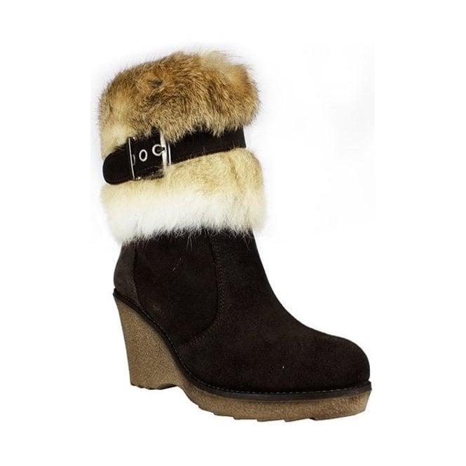 LA THUILE BOOTS La Thuile Kuhtai Womens Winter Boot in Brown